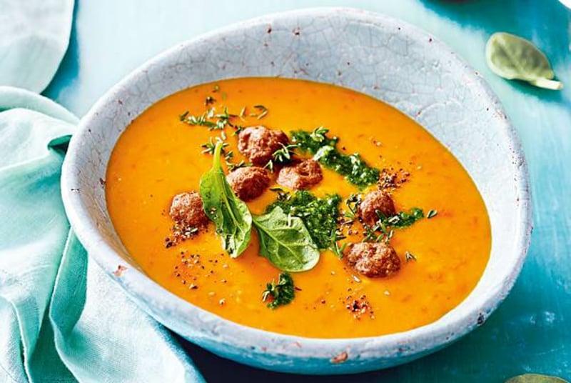 Suppen kochen Ideen für den Sommer