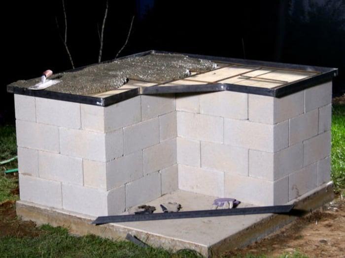 Arbeitsplatte gießen Beton