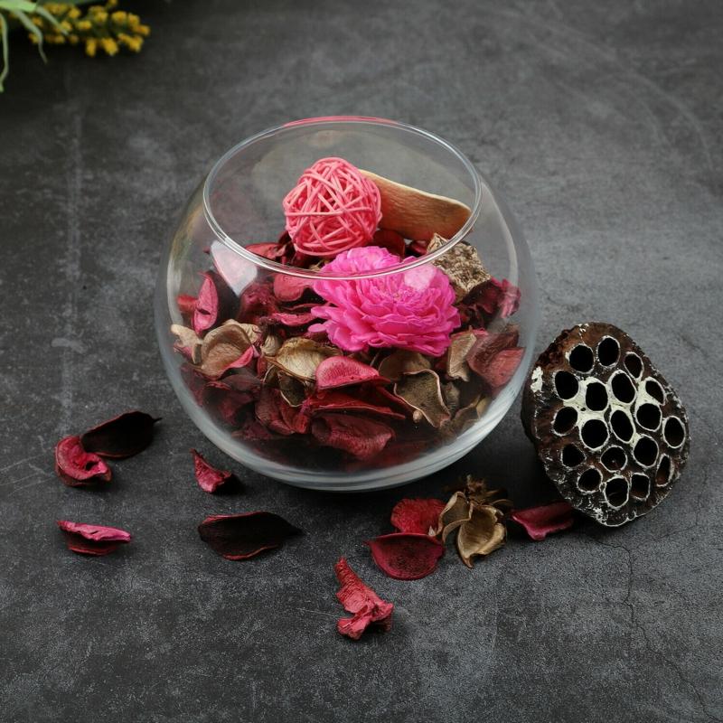 Potpourri zubereiten Rosen Glasschele