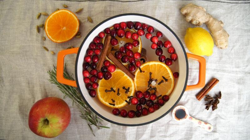 Potpourri selber machen mit frischen Zutaten