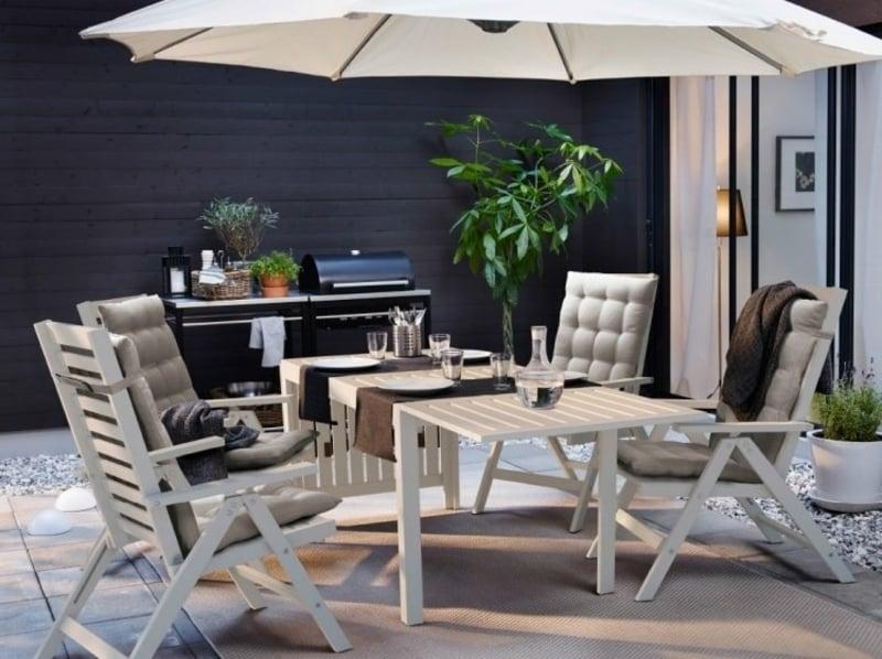 IKEA Gartenmöbel Terrasse Outdoor Küche