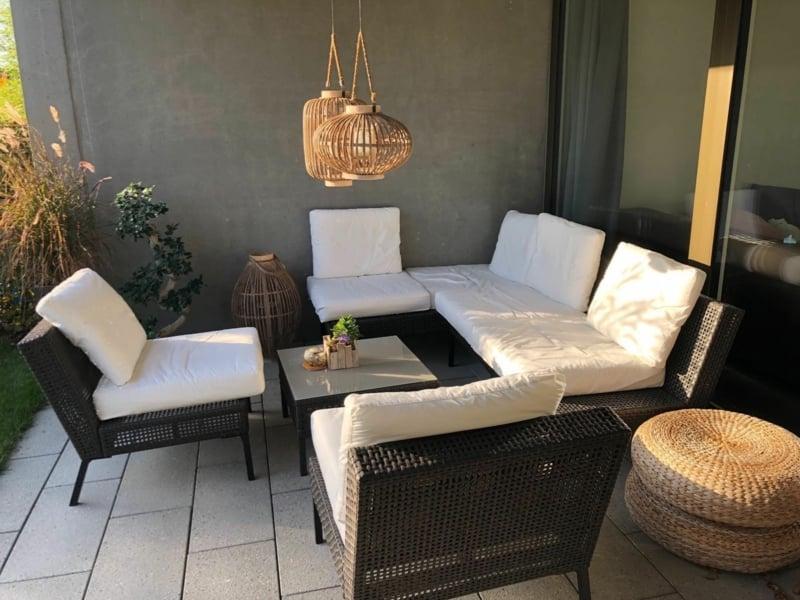 Terrasse einrichten iKEA Gartenmöbel