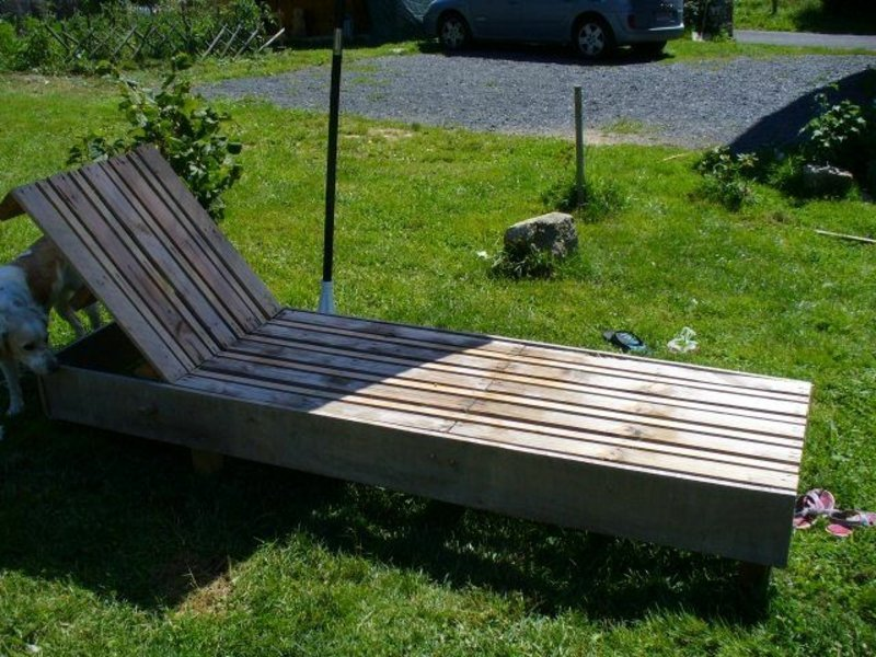 Palettenmöbel Garten DIY