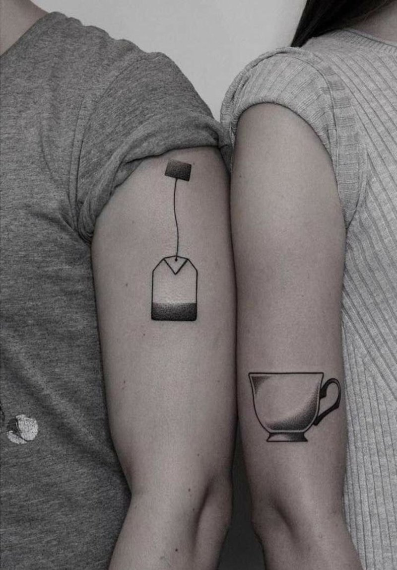 Tattoo originlee Motive Teebeutel Teetasse