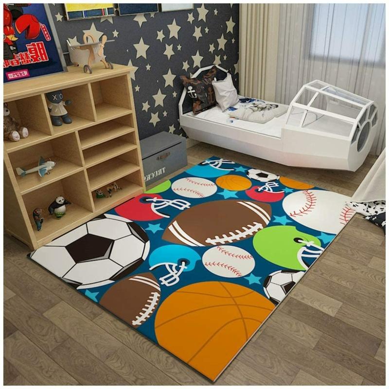 Teppich für das Jungenzimmer