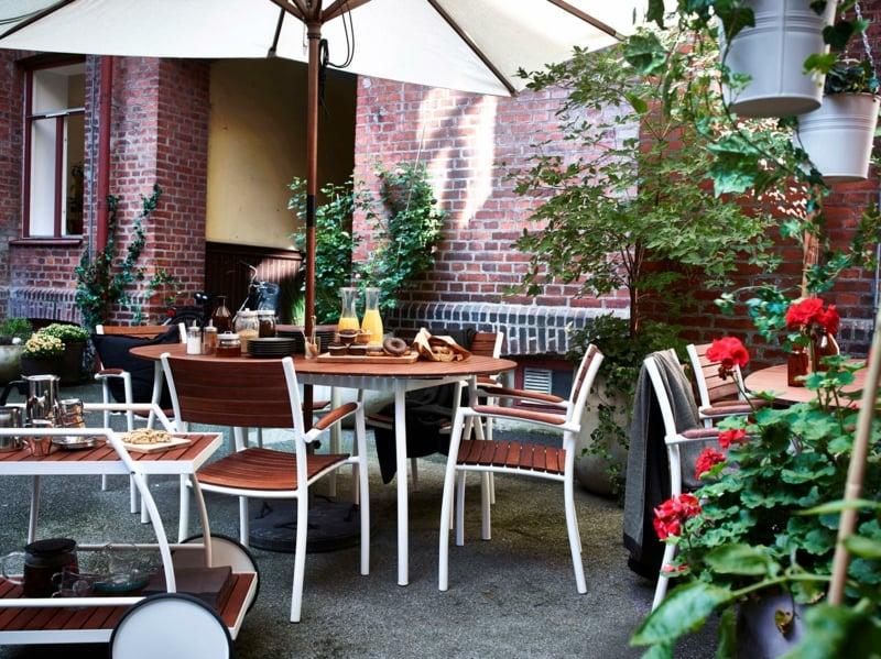 IKEA Gartenmöbel moderne Ideen