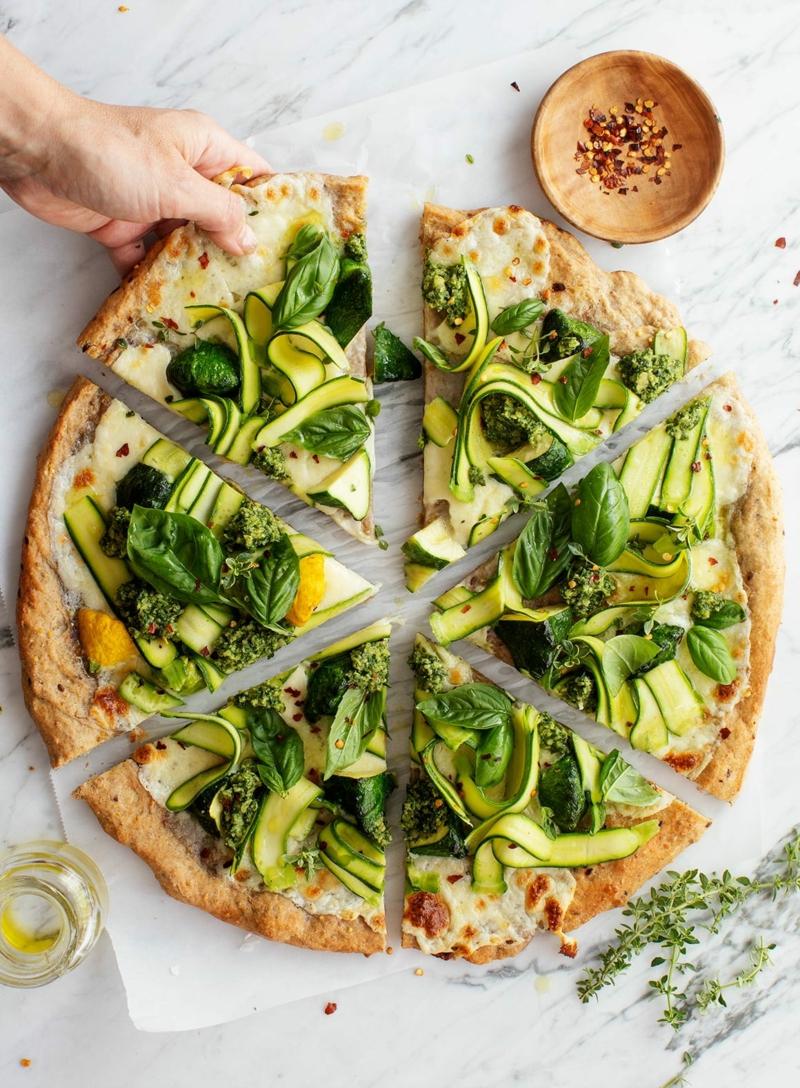 vegetarische Pizza selber machen