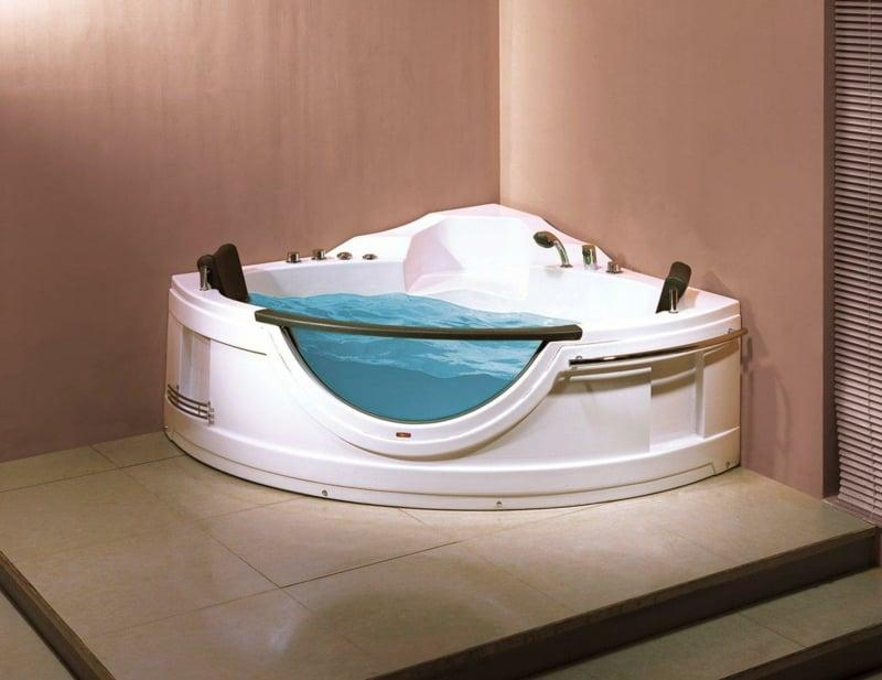 Whirlpool Badewanne modern