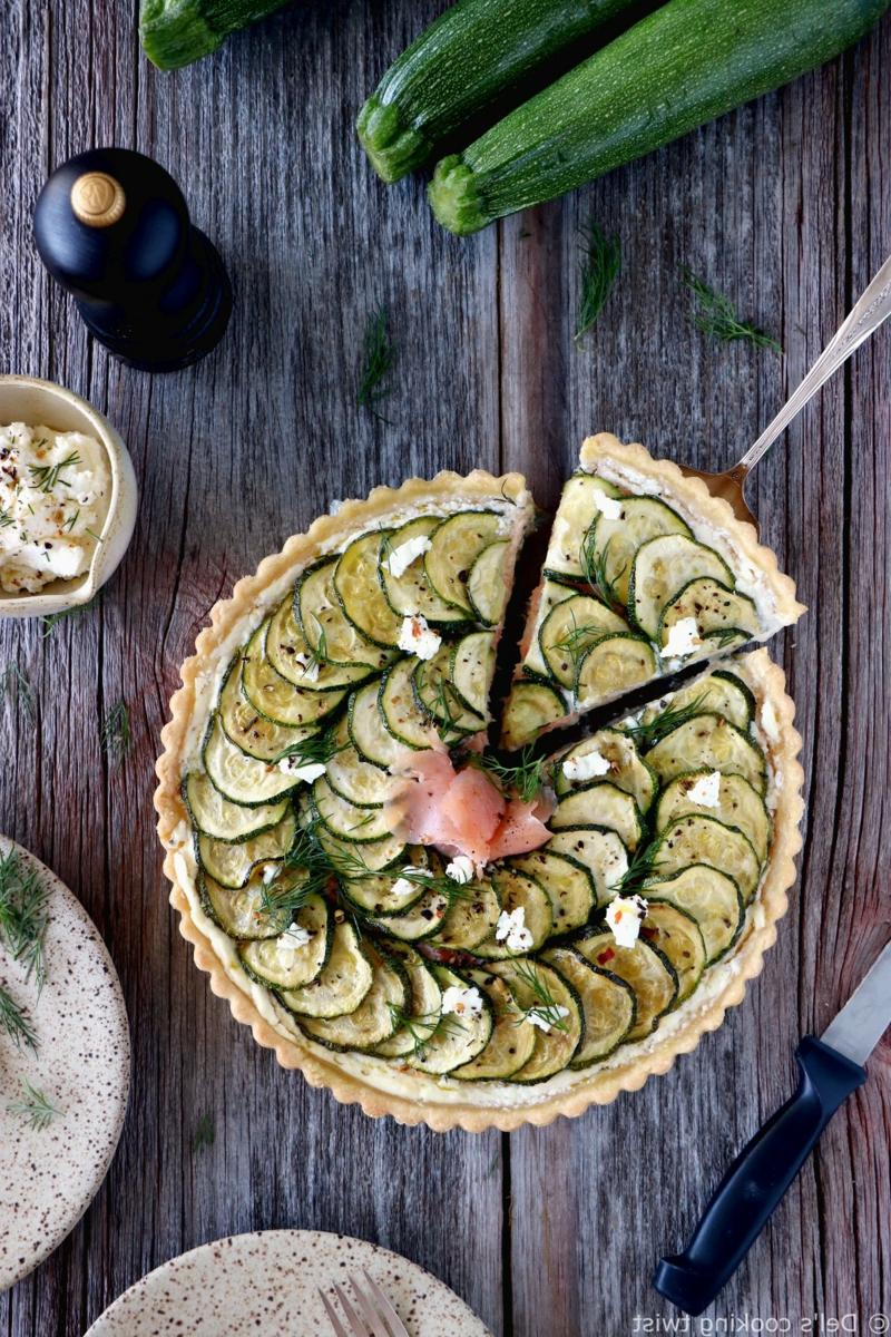 Tarte mit Zucchini zubereiten