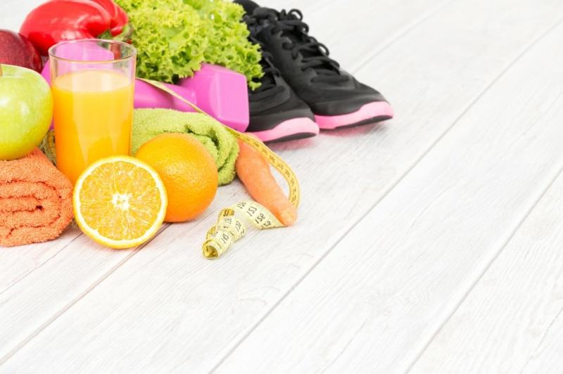 Punkte Diät Sport treiben