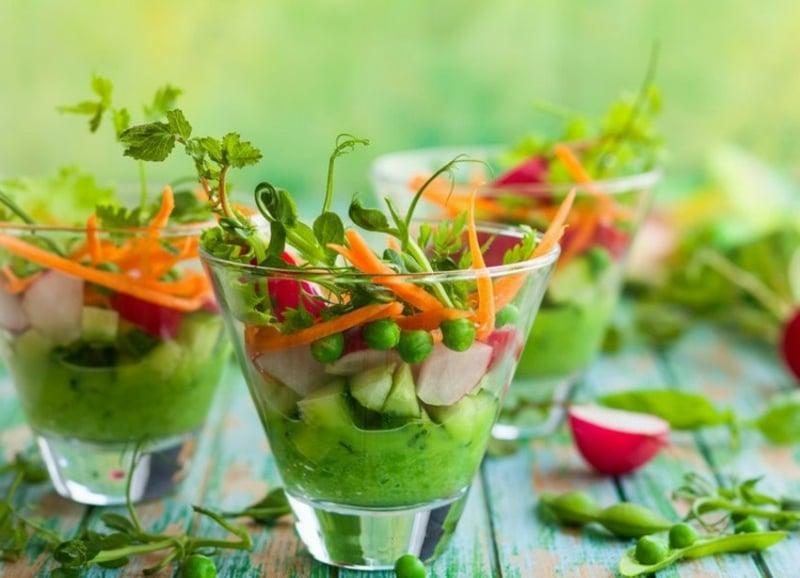 leckere kulinarische Ideen Abnehmen