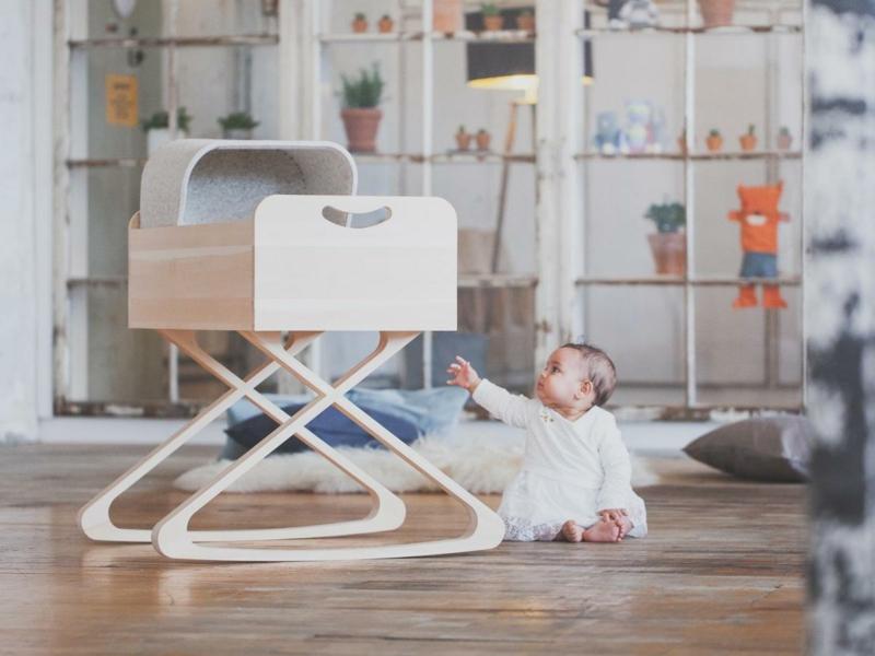 Stubenwagen Babyzimmer originelles Design
