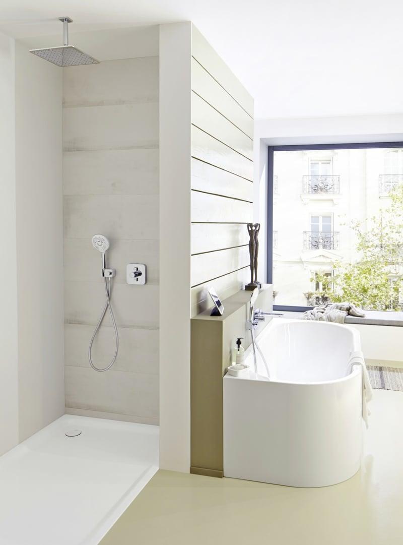 Dusche Sichtschutz Badfenster