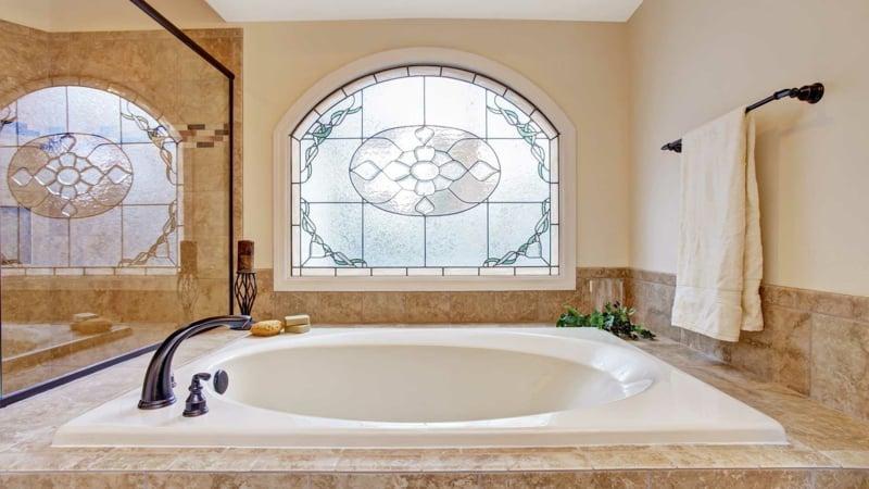 Bad modern große Badewanne