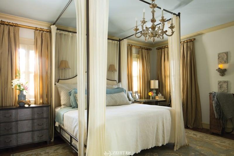Schlafzimmer im Barock Stil