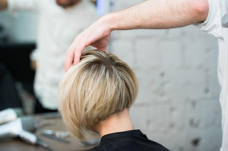 Frisuren für dünnes Haar A-Linie Bob
