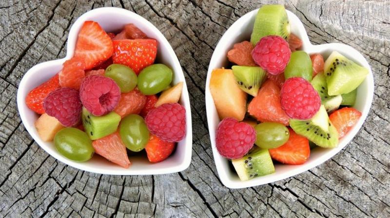 Zwischenmahlzeit frisches Obst