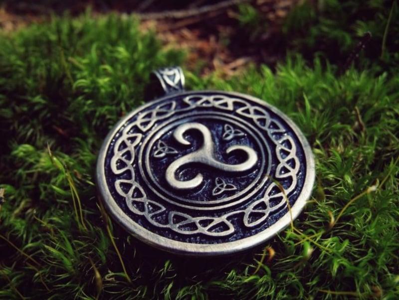 keltische Symbole Triskele