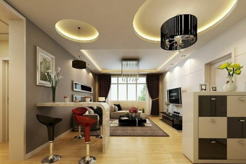 DEcke modern indirekte LED-Leuchten
