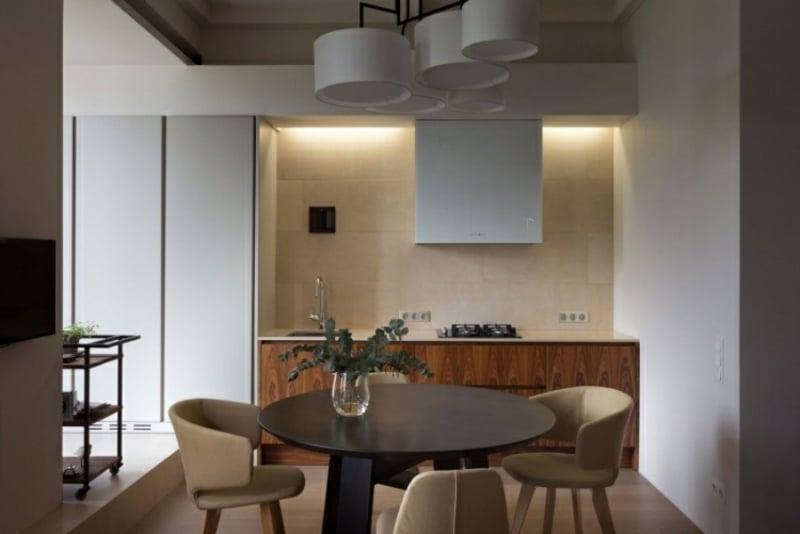 indirektes Licht Küchenzeile