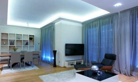 indirekte Beleuchtung Decke sehr modern