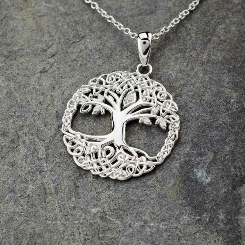keltische Symbole Lebensbaum Kette
