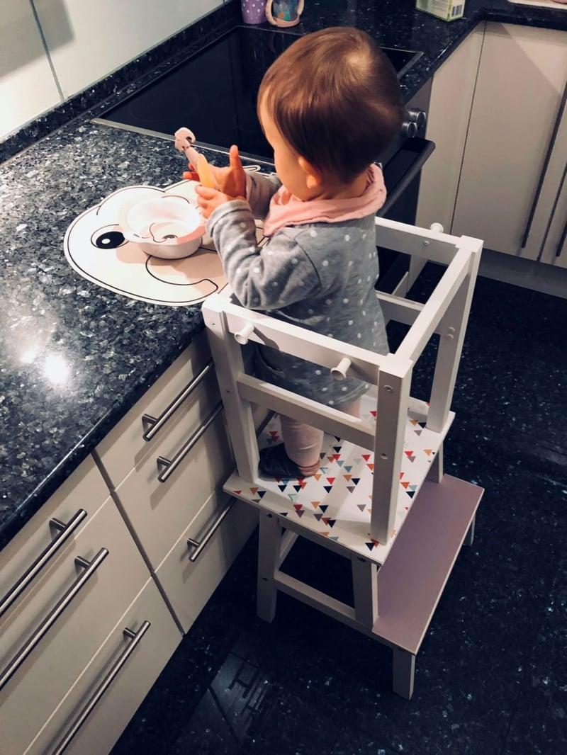 Kinderhochstuhl selbstgemacht