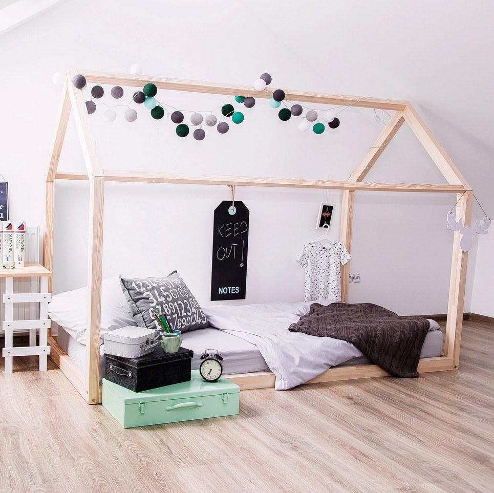 Skandinavisches Kinderbett für ein simples Design