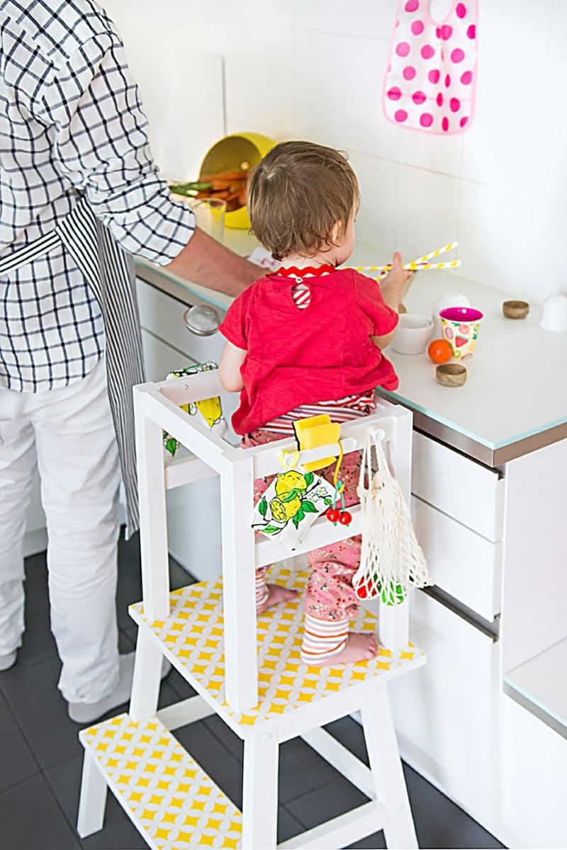 Bauanleitung leicht Kinderhochstuhl