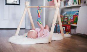 Spielecke für das Baby