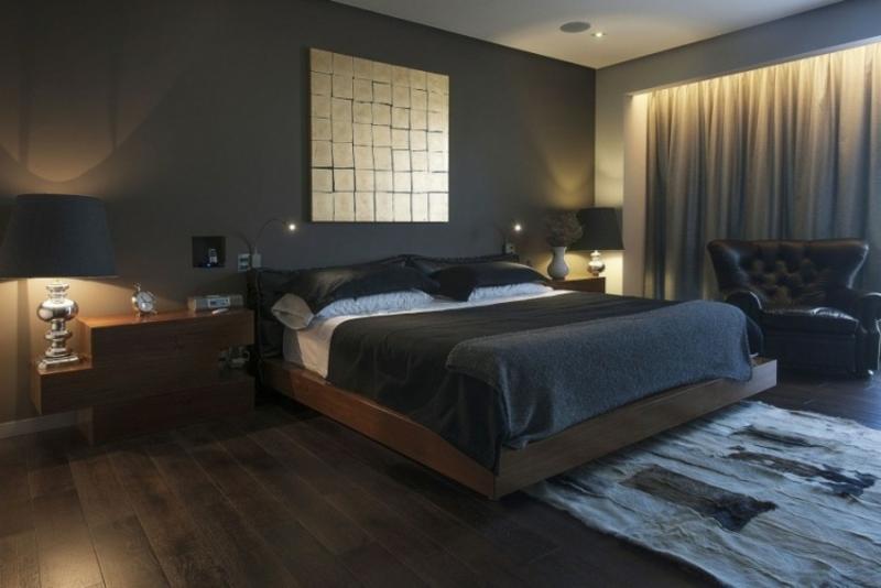 indirekte Beleuchtung Decke Schlafzimmer romantisch