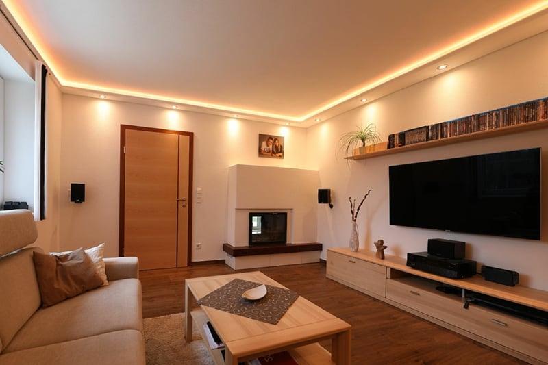 indirekte Beleuchtung Decke für ein gemütliches Ambiente