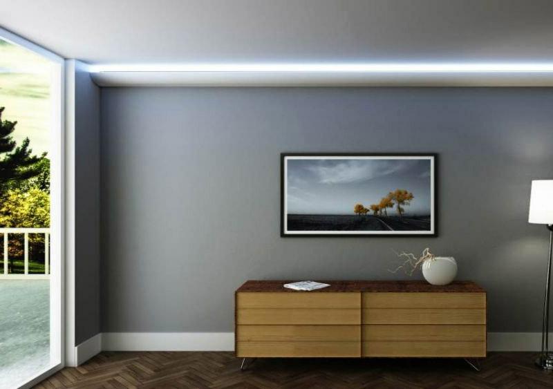 LED Streifen Akzentbeleuchtung gestalten