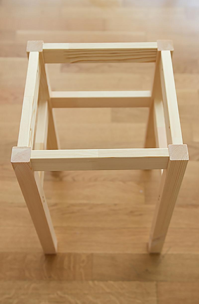 IKEA Hocker Oddvar aufbauen
