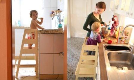 Kinderhochstuhl für Kleinkinder selber bauen
