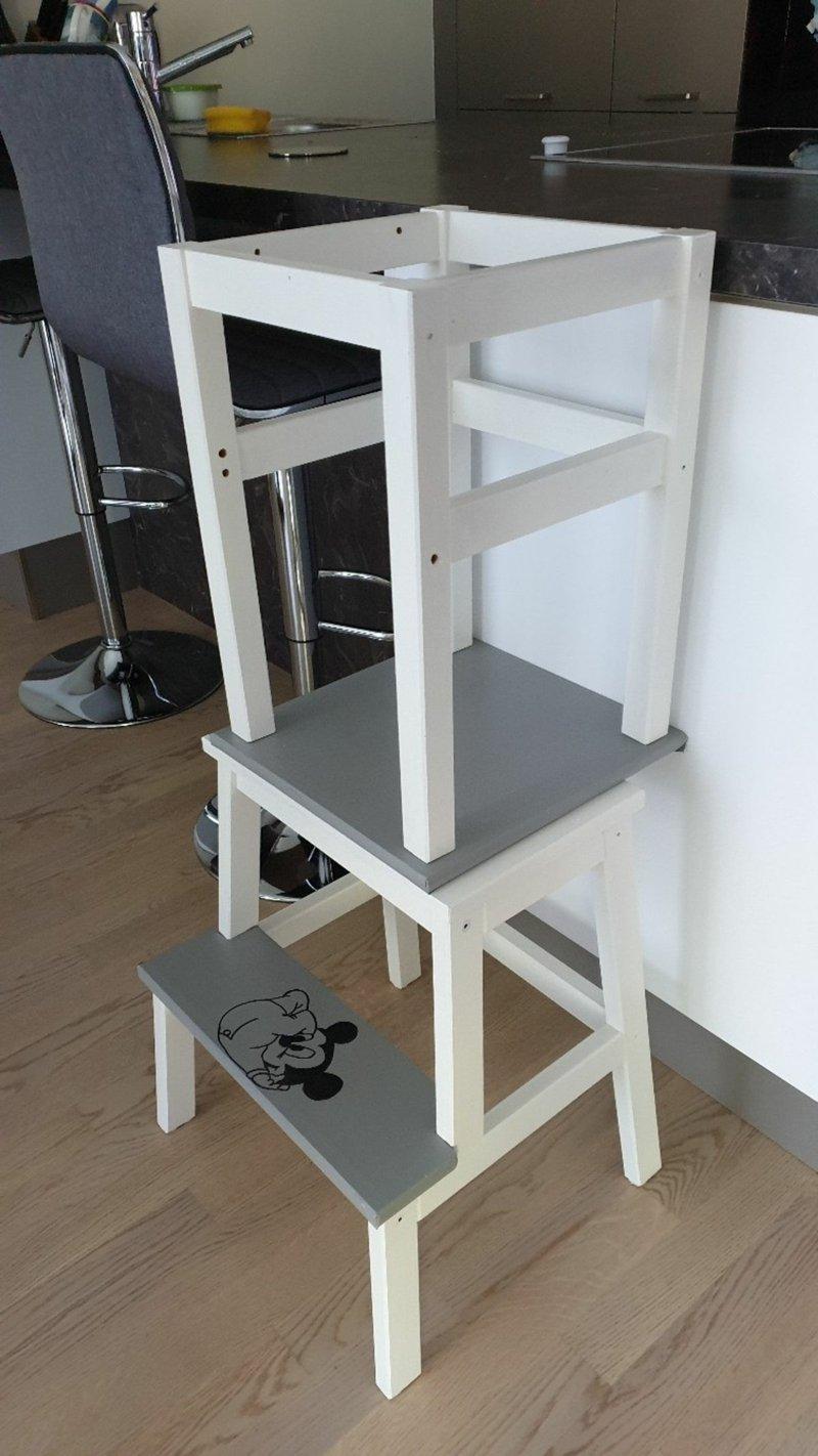 Kinderhochstuhl bauen zwei Hocker