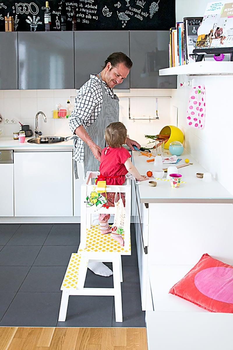 Kinderhochstuhl praktisch Küche
