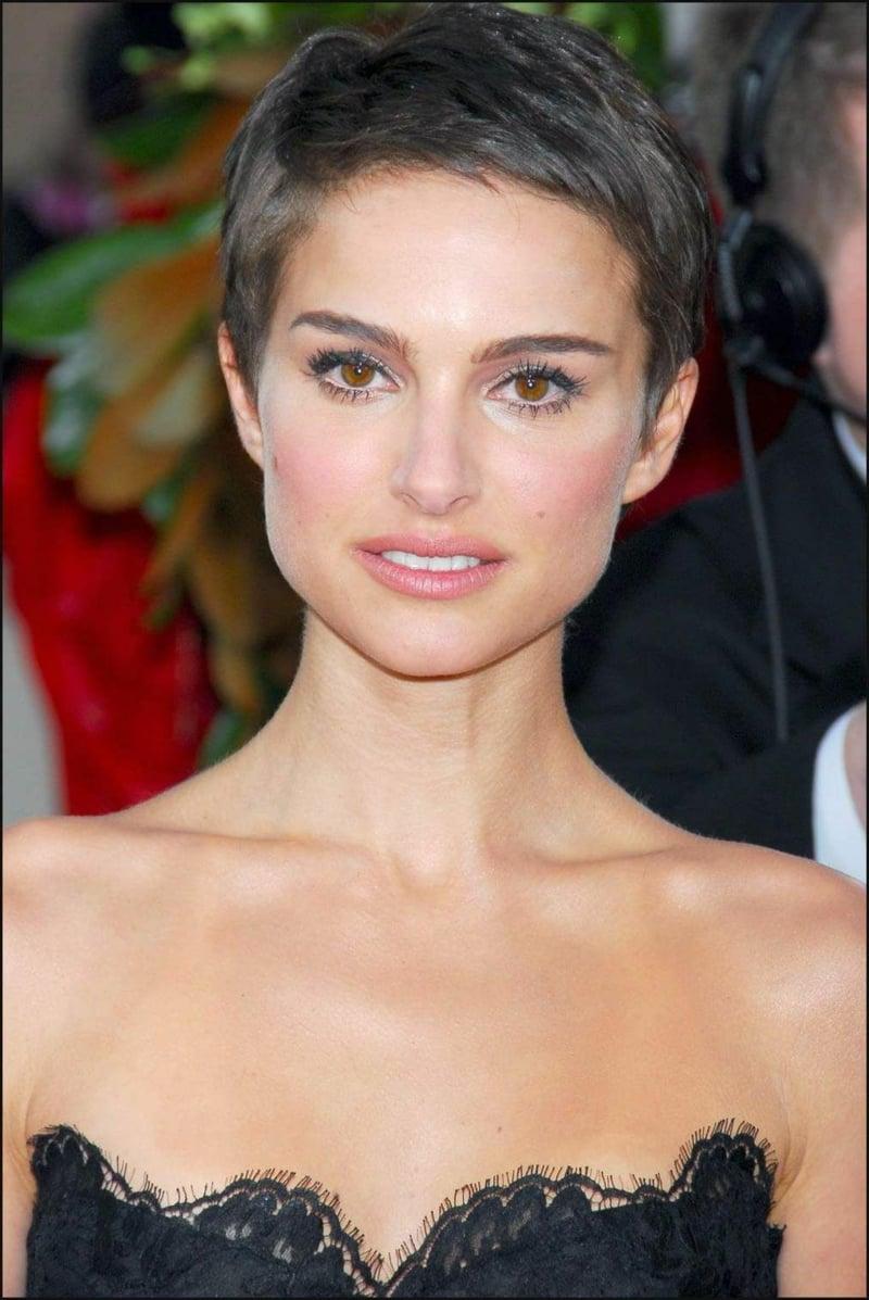 Frisuren für dünnes Haar Natalie Portman