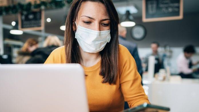 Online Shopping während Pandemie
