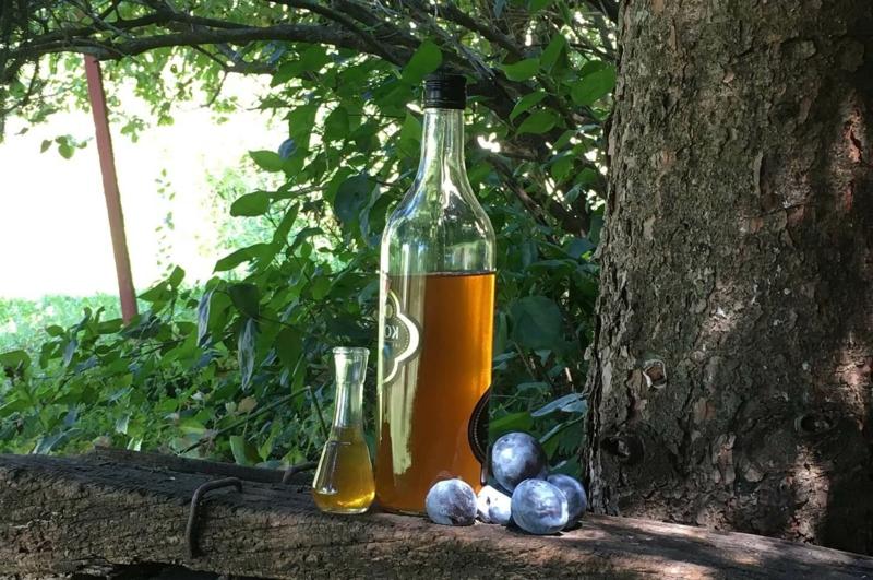 bulgarische Getränke Rakija