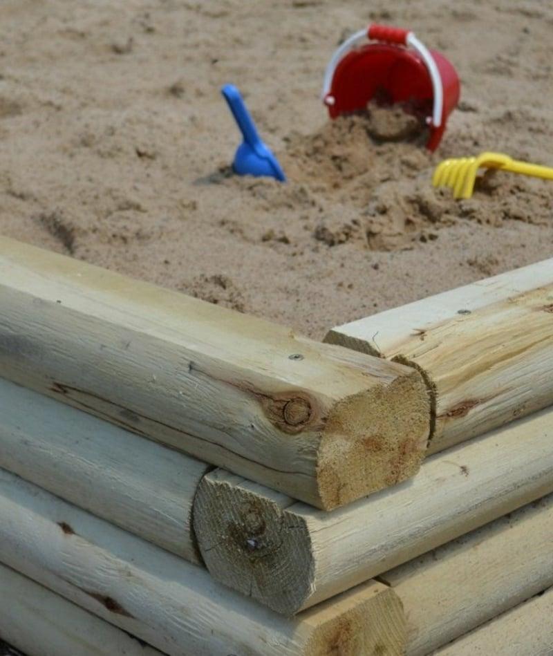 Spielplatz im Garten gestalten Ideen