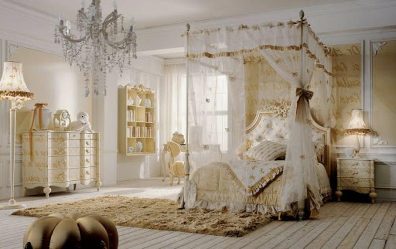 Barock Schlafzimmer Himmelbett
