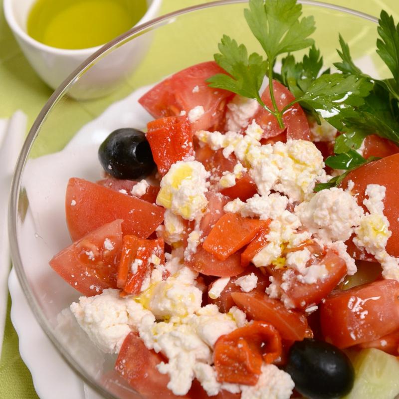 bulgarischer Salat selber machen