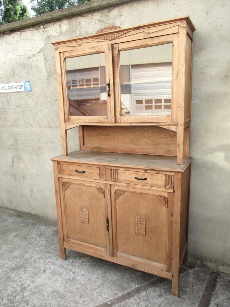 Küchenschrank Vintage Look