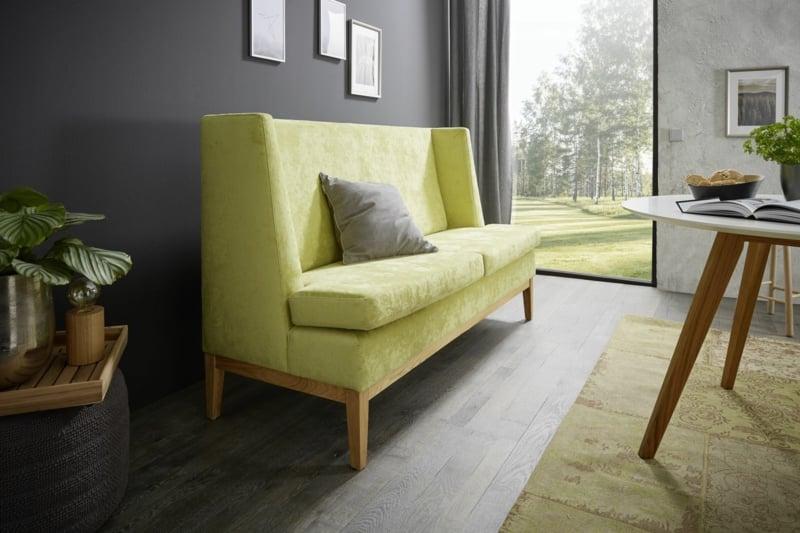 Vintage Sofa in Hellgelb elegant