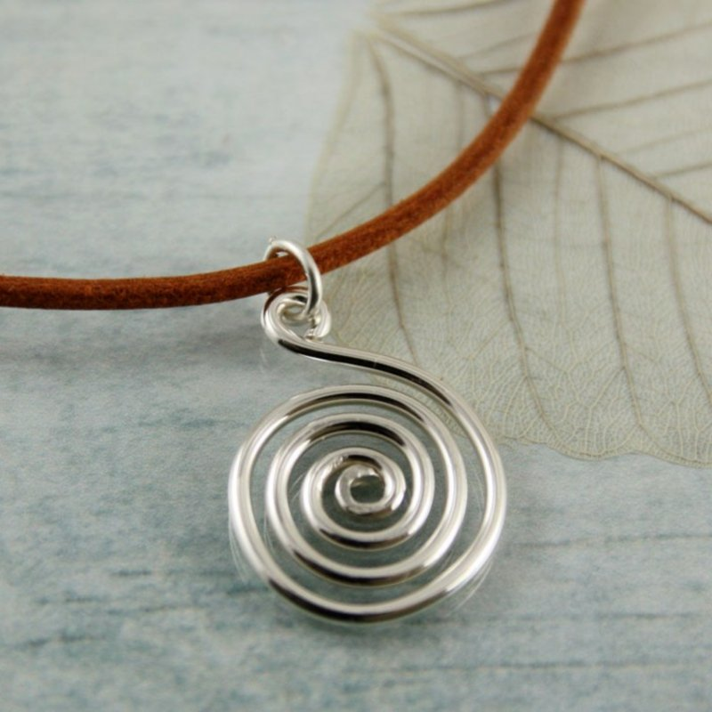 Halskette Spirale elegant