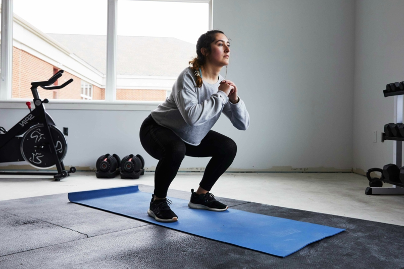 Punkte Diät Übungen machen