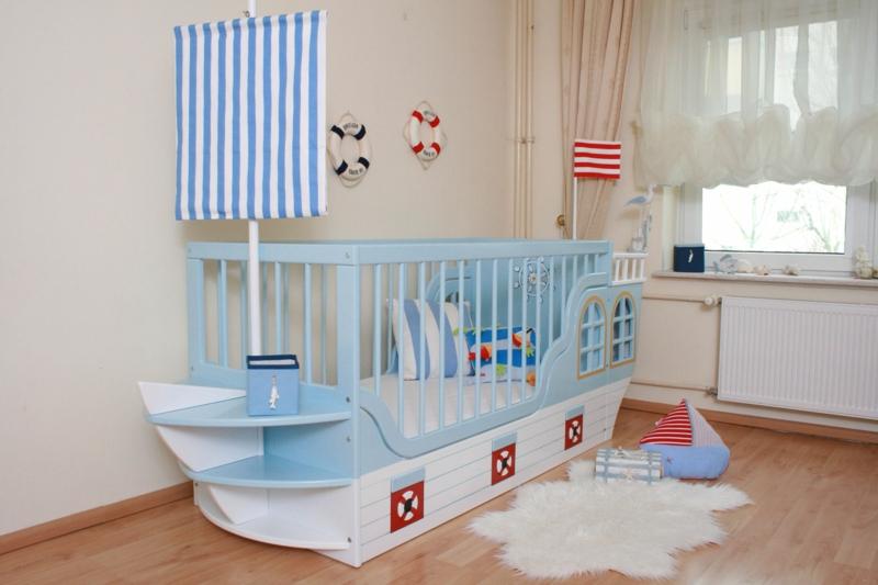 Kinderbett Schiff origineller Look