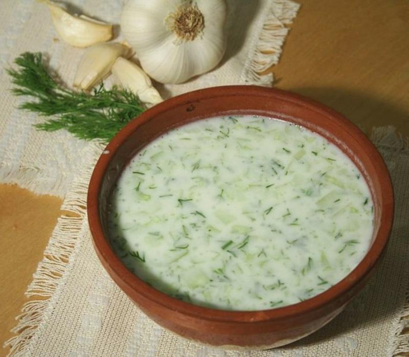 bulgarische Gerichte Tarator
