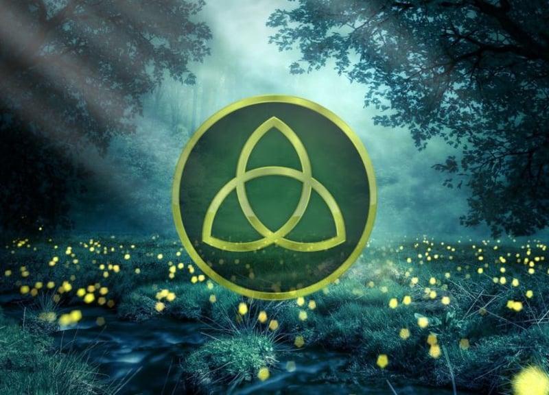 keltische Symbole Bedeutung Triquetra